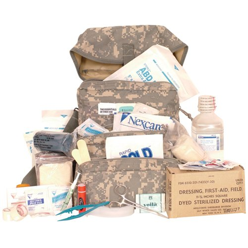 Fox Outdoor Products Trifold Medical Bag & First Aid Kit