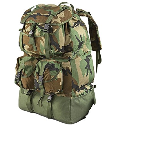 Military Surplus Army Backpack Mounted Crewman Compartmented Equipment Bag MCCEB