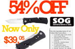 54% Off SOG Specialty TF26-CP Trident Mini Knife