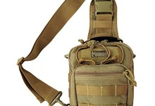 Maxpedition 0419K Khaki Remora Gearslinger Carry Pack with Padded Strap