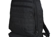Fox Tactical 3-Day Assault Backpack – 20 x 15 x 9 Inches, Tactical MOLLE Compatible (Black)