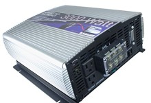 12 volt to 110 volt DC to AC Power Inverter with USB (3000 Watt, 3ft Cables)