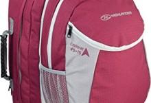 Highlander Outdoor Explorer 45+15-Liter Ruckcase, Raspberry Pink/Grey